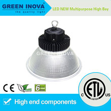 6 years warranty ETL cETL listed LED high bay lighting fitting 100w
