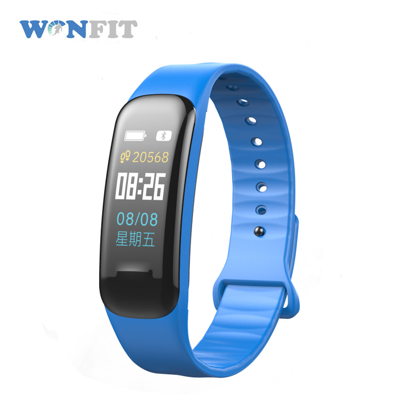 HR BP fitness tracker <strong>C1</strong> plus smart bracelet watch band Fitness Tracker