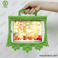 Kids cover case for mini ipad /ipad mini with handle/stent