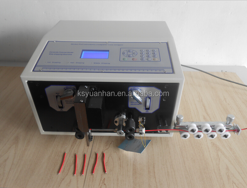electric cord cutting wire striping machine/high quality wire cutting machine/edm wire cutting machine price