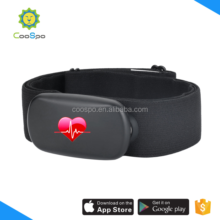 CooSpo fitness sports chest strap heart rate monitor