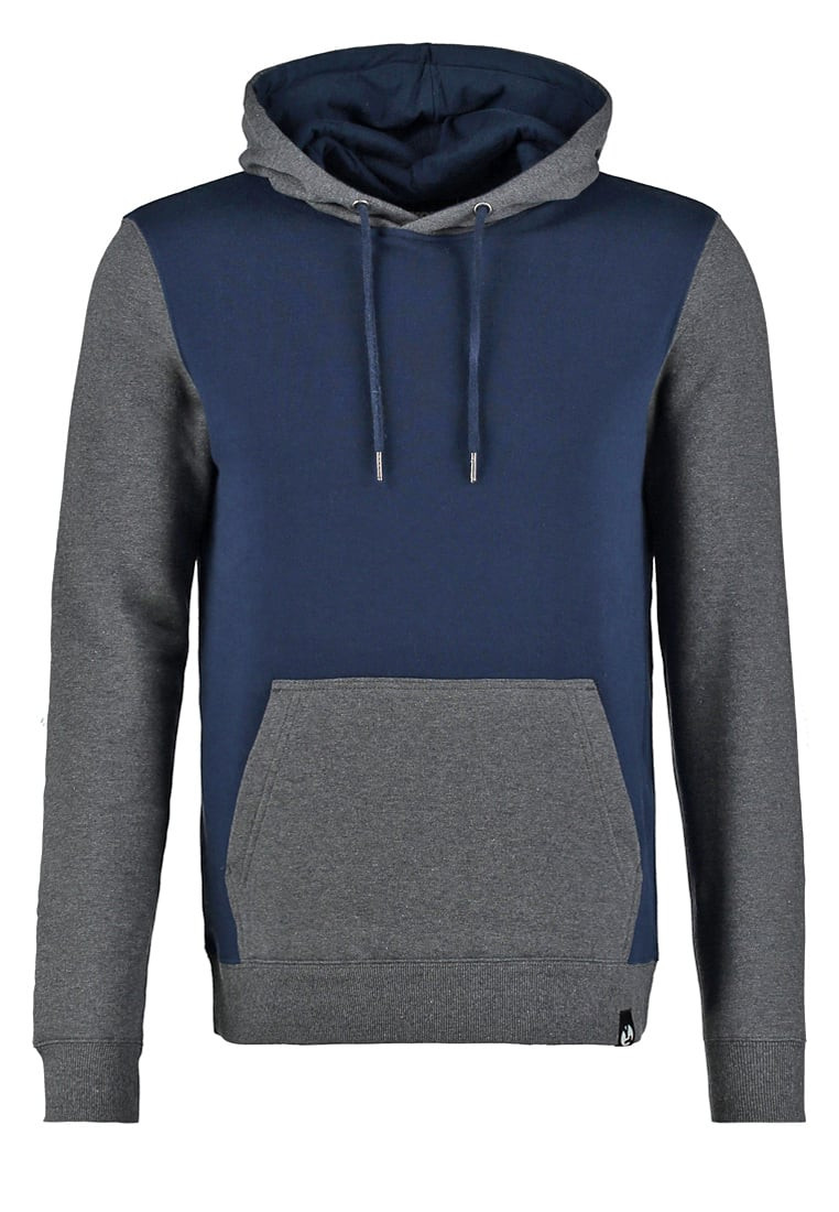 Fashion casual plain blank spliced color custom french terry 100% cotton men no logo hoodies