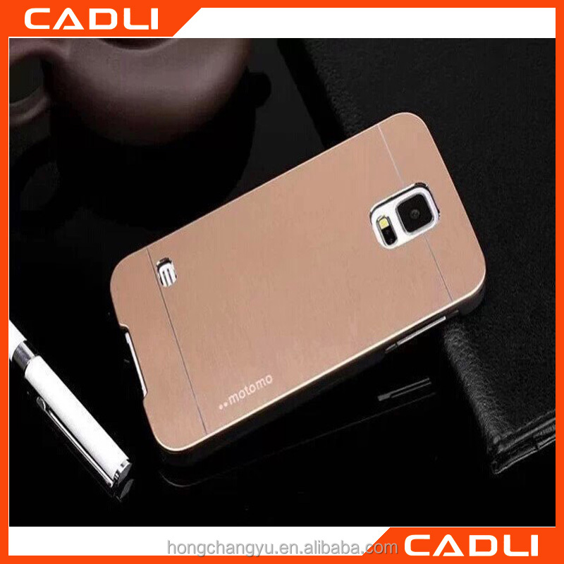 China Manufacturer Hot selling Aluminium Metal MOTOMO Mobile phone case for Samsung S4