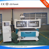 cnc multi spindle wood router machine 3d 1325 cnc router for wood carving super quality with two spindles