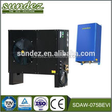 Energy save evi heat pump split 11.8KW (-25DegC) Low Temperature air to water heat pump