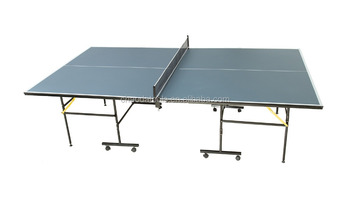 Modern table tennis table, Removable table tennis table, Folded portable table tennis table