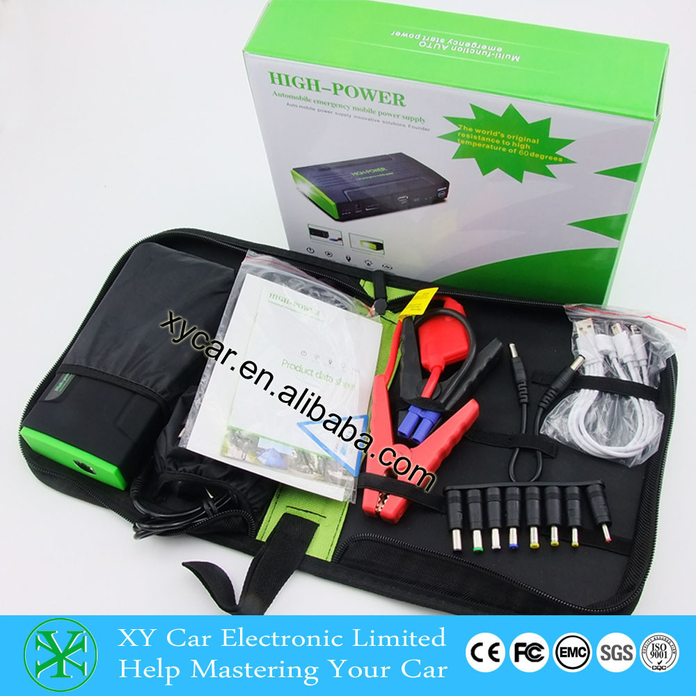 12000mah multi-function Car Emergency Jump Starter/12v auto parts/starter battery for winter driving XY-JS10