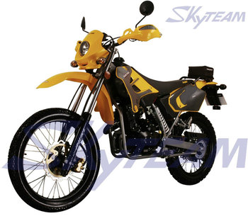 SKYTEAM 200cc 4 stroke super motard SM and Enduro Trail Motorcycle (EEC Approval)