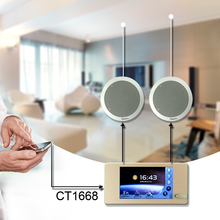 Wireless Wifi Bluetooth touch screen wall music player for smart Home sound system CT1668