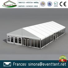 marquee military garage clear span event tent for restaurant