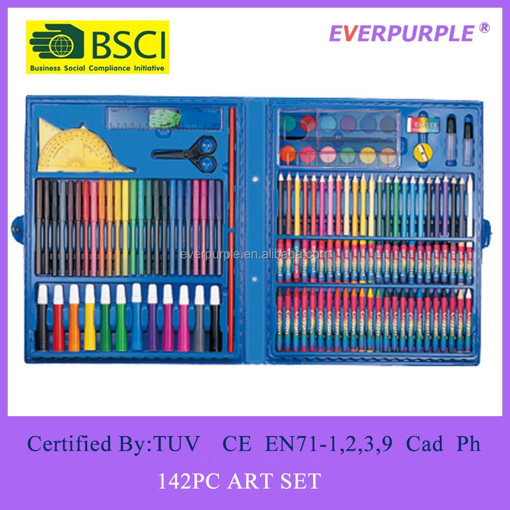 106PC Art Set,Art Set For Kids,Stationery Art Set