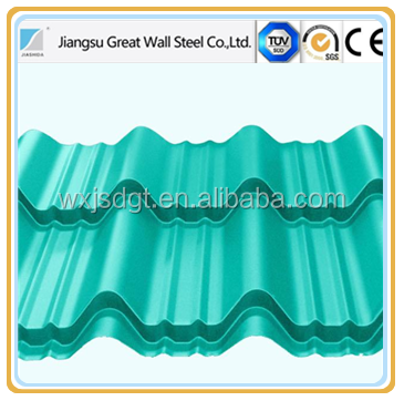 full automatic CNC GI/PPGI/Aluzinc metal corrugating roofing sheets making machine in China