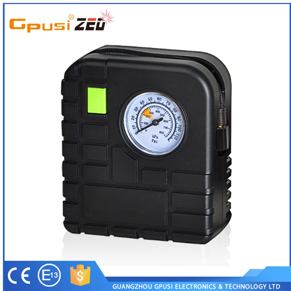 Gpusi High Quality Factory Price Cheap Price Portable Mini Tire Inflator Air Compressor 12v
