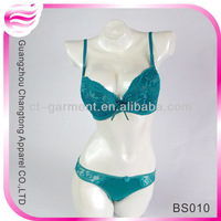 hot sexy green bra panty set (BS010)
