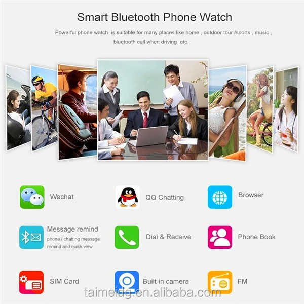 2015 factory supply W8 android smart watch for children, smart watch phone, hand watch mobile phone price
