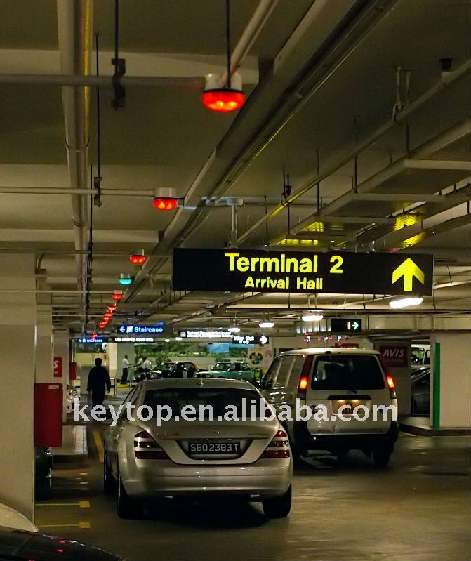 KEYTOP Smart Vehicle Tracking System with Parking Kiosk and Led Guide Screen
