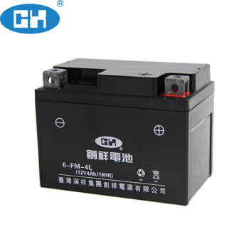 2018 Philippines Market Hot Sale Maintenance Free Motorcycle Battery