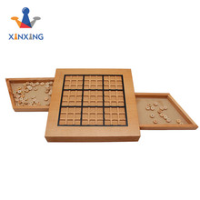 Wooden Sudoku Board Game Puzzle with Wood Number 8911