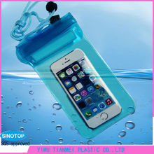 Ipx8 pvc waterproof mobile phone case for smartphone
