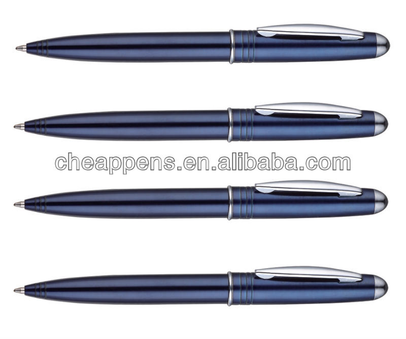 Advertising personalized cheap twist metal ball pen promotional ballpoint pen with custom logo