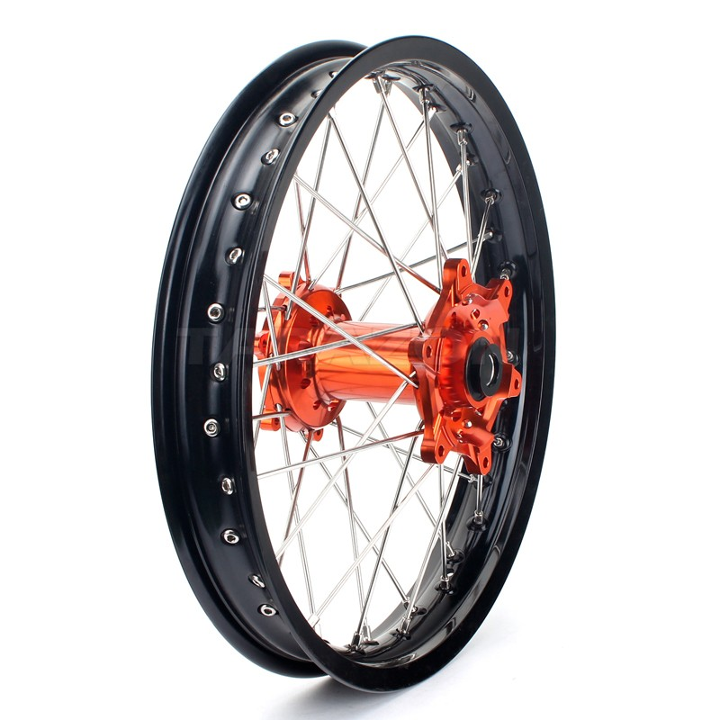 Customized Welding Aluminum dirt bike wheels for KTM EXC 250