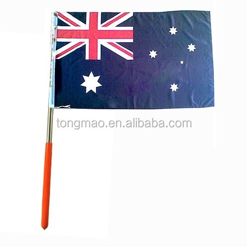 Popualr DIY can make USA, UK, Canada or any other country's Telescopic extendable flag