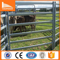 China anping manufacturer steel tube corral fencing panels/ used horse corral panels/ galvanized cattle panels