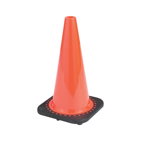 Factory Price PVC traffic Road Cones With White Reflective Tape