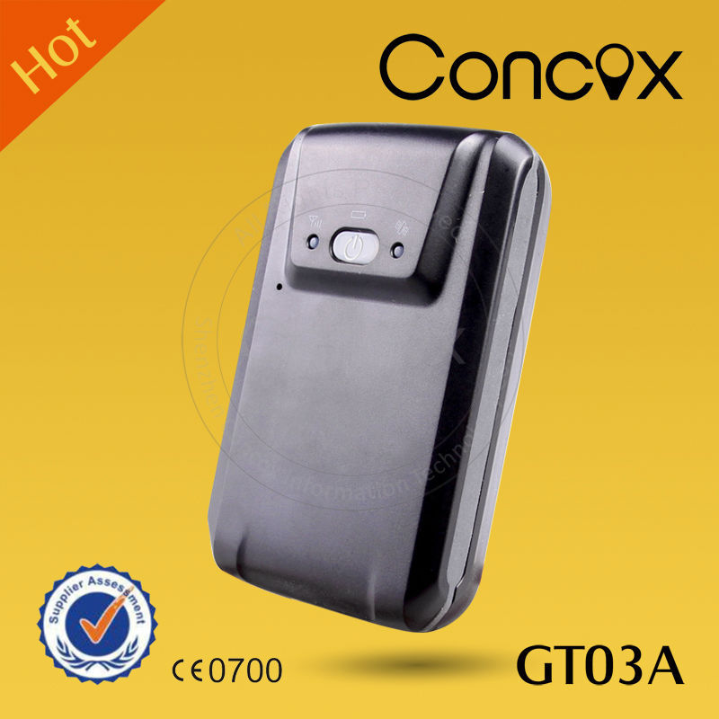 CONCOX GT03A portable car gps gprs tracker global positioning system Gsm tracking device