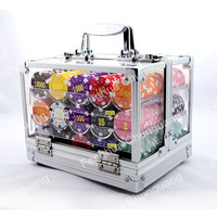 custom casino wholesale Deluxe Poker Chip Game Set