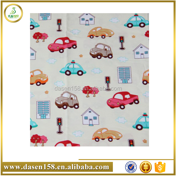 With high quality for Garment 100% cotton fabric for t shirt With Spandex Flowers Design