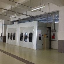 2017 hot sale electric heating spray booth