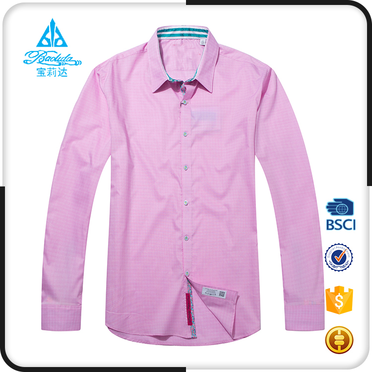 Custom 100% cotton wholesale mens dress shirts with tie