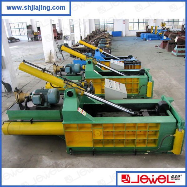 High quality hydraulic scrap metal baling press machine,used scrap metal baling press
