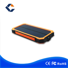 China wholesale facotry 8000mah Solar Power Bank Rohs Solar Cell Phone Charger Portable Solar Charger For Mobile Phone