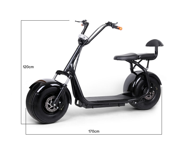 brushless scooter