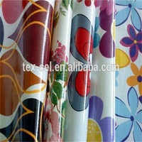 Eco-friendly Waterproof PVC tablecloth with Non-woven Backing