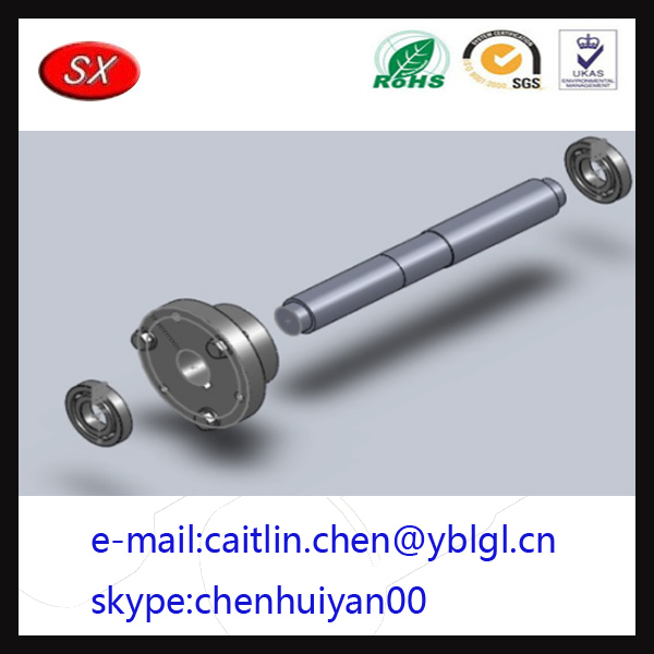 Custom Shaft Bearing Assembly stainless steel 304