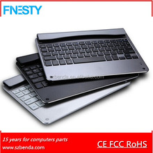 6mm thickness metal bluetooth keyboard for ipad air