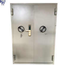 Double security screen explosion proof steel cheap security doors