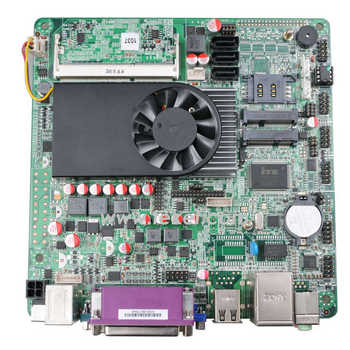 Intel 1037 Mini-ITX Motherboard C1037BM Celeron 1037U 1.8Ghz 12V DC ,LVDS,HD MI,VGA 3G SIM card slot Industrial board