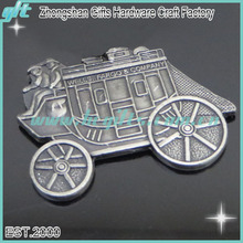 Antique style plating metal car lapel pins with wholesale price