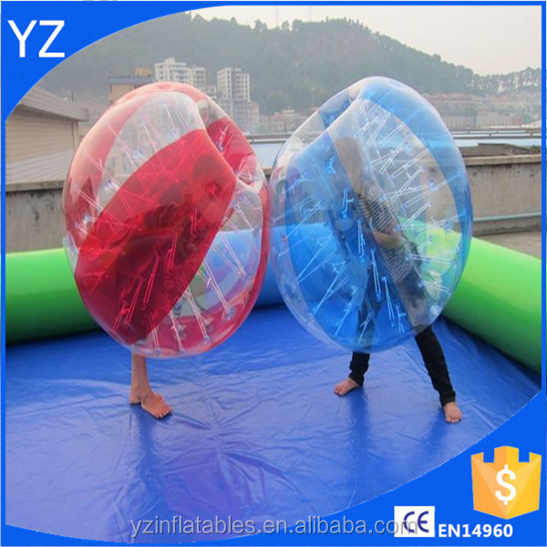 On stock Dia 1.5m PVC inflatable sumo bumper ball