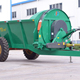 10 cubic meters side throw manure/sand/organic fertilizer spreader!