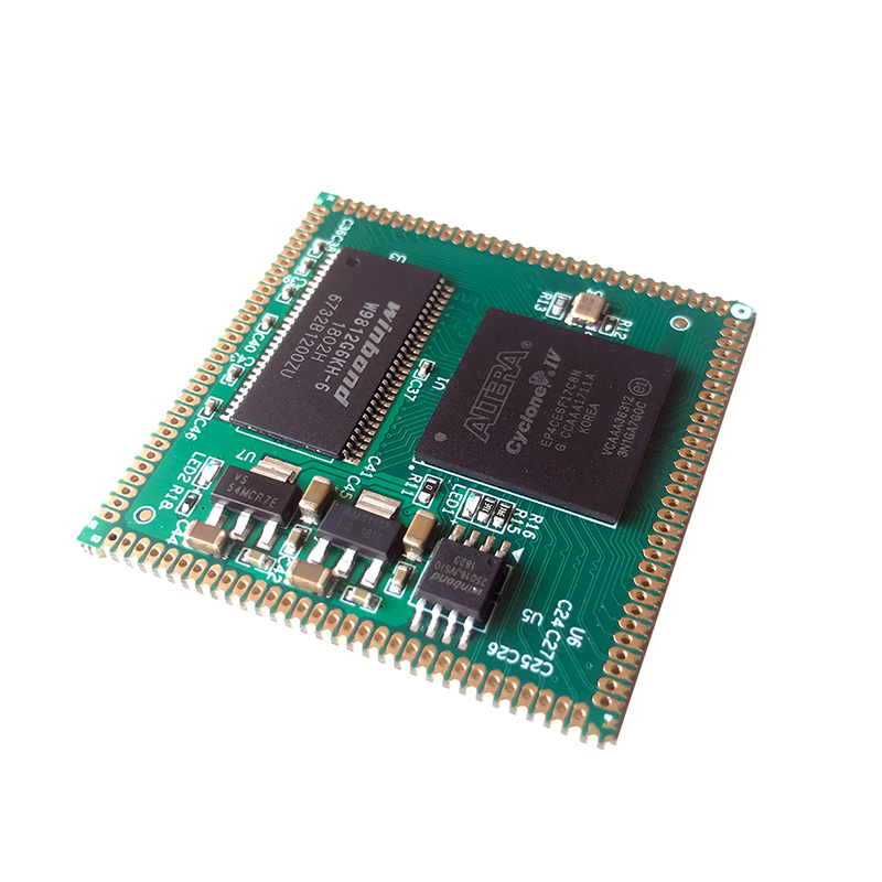 AC608 FPGA Core Board EP4CE22 Stamp <strong>Hole</strong> Fully Compatible