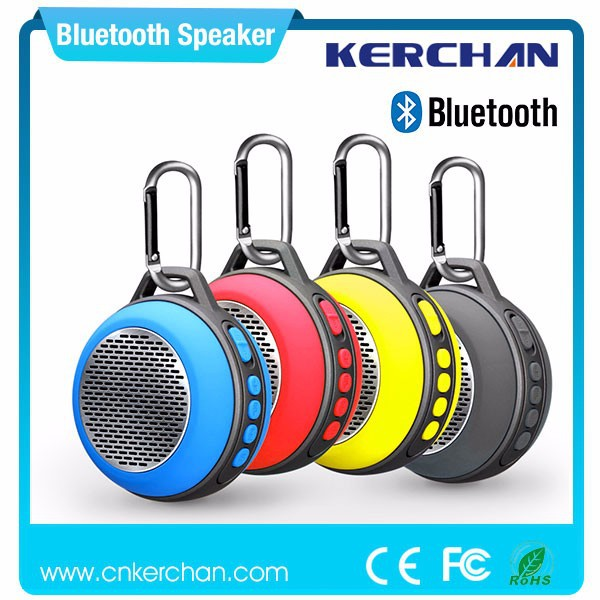 2015 hot ! professional bluetooth mini cd player with speakers with hook