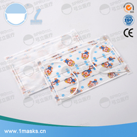 High quality disposable medical surgical printed low price dust mask