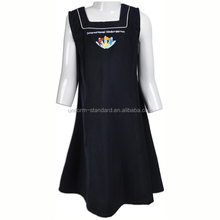 School Uniform Factory good quality Beautiful Pinafor school-uniform sample