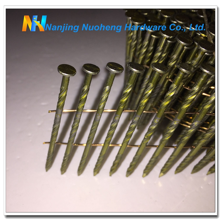 2.3X57SC/Bright 15 Degree Screw Shank Bright common wire nail