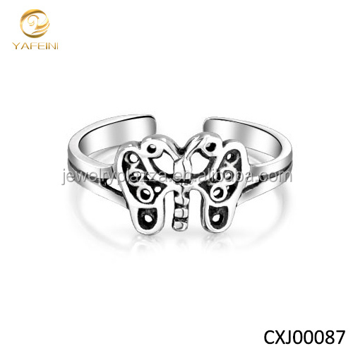 Sterling Silver 925 small toe ring from jewelry factory YFN